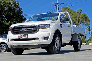 2020 Ford Ranger PX MkIII 2021.25MY XL White 6 Speed Manual Single Cab Chassis