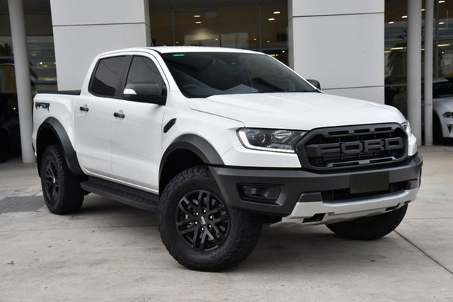 Used Ford Ranger PX MkIII 2019.00MY Raptor Oakleigh, 2019 Ford Ranger PX MkIII 2019.00MY Raptor White 10 Speed Sports Automatic Double Cab Pick Up