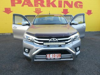 2016 Toyota Hilux GUN126R SR5 Double Cab Silver 6 Speed Sports Automatic Utility