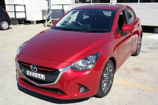 2015 Mazda 2 DJ2HAA Genki SKYACTIV-Drive Red 6 Speed Sports Automatic Hatchback.