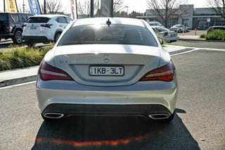 2016 Mercedes-Benz CLA-Class C117 807MY CLA200 DCT Silver 7 Speed Sports Automatic Dual Clutch Coupe