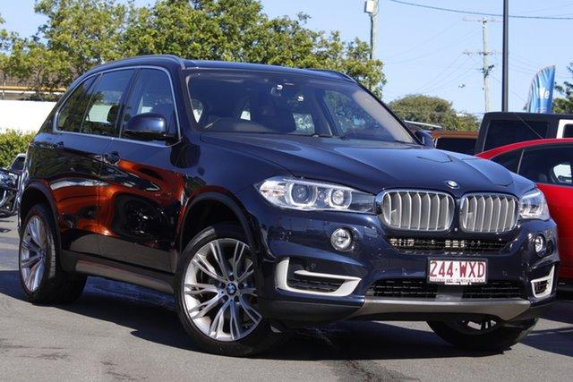 Used BMW X5 F15 xDrive40e iPerformance Mount Gravatt, 2016 BMW X5 F15 xDrive40e iPerformance Blue 8 Speed Sports Automatic Wagon Hybrid