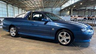 2002 Holden Ute VU II SS Blue 6 Speed Manual Utility.