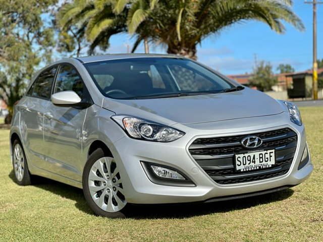 Used Hyundai i30 GD3 Series II MY16 Active Cheltenham, 2015 Hyundai i30 GD3 Series II MY16 Active Sleek Silver 6 Speed Sports Automatic Hatchback