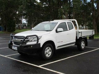 2017 Holden Colorado RG Turbo LS 4x4 White Automatic SPACECAB CHASS.