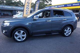2011 Holden Captiva CG Series II 7 AWD LX Thunder Grey 6 Speed Sports Automatic Wagon.