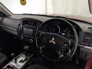 2008 Mitsubishi Pajero NS GLX Red 5 Speed Sports Automatic Wagon