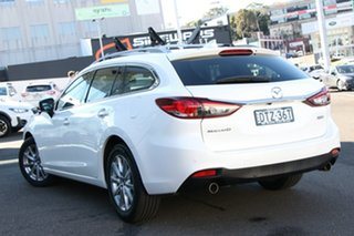 2018 Mazda 6 GL1031 Sport SKYACTIV-Drive White 6 Speed Sports Automatic Wagon.