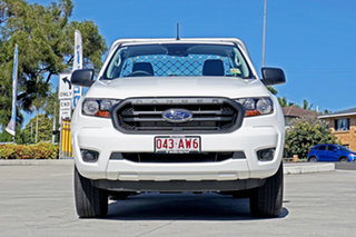 2020 Ford Ranger PX MkIII 2021.25MY XL White 6 Speed Manual Single Cab Chassis.