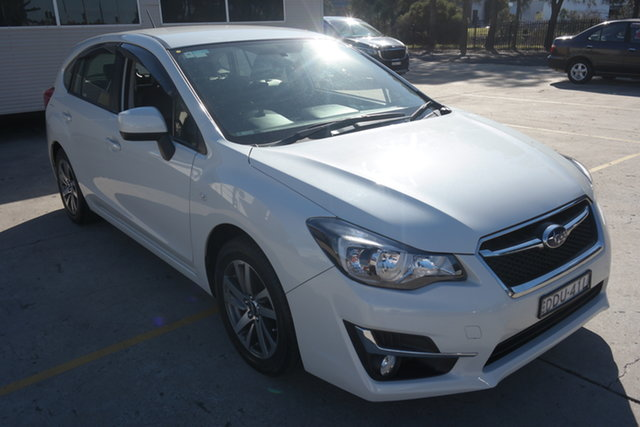 Used Subaru Impreza G4 MY16 2.0i Lineartronic AWD Premium Maryville, 2016 Subaru Impreza G4 MY16 2.0i Lineartronic AWD Premium White 6 Speed Constant Variable Hatchback