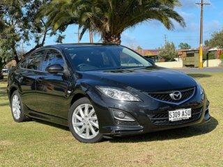 2012 Mazda 6 GH1052 MY12 Touring Black 5 Speed Sports Automatic Sedan.