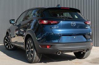 2021 Mazda CX-3 CX-3 F 6AUTO AKARI PETROL FWD Deep Crystal Blue Wagon