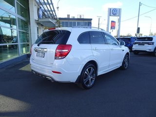 2017 Holden Captiva CG MY18 LTZ AWD Summit White 6 Speed Automatic Wagon