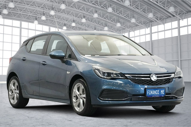 Used Holden Astra BK MY18 RS Victoria Park, 2017 Holden Astra BK MY18 RS Blue 6 Speed Sports Automatic Hatchback