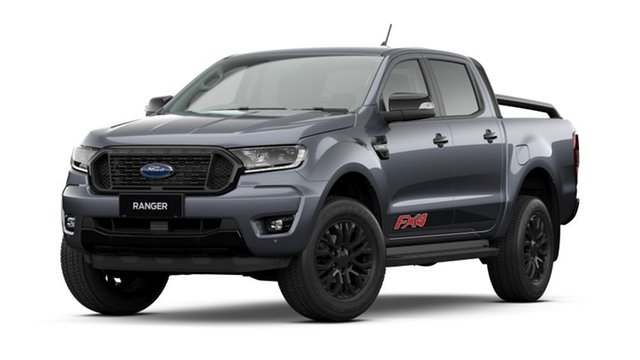 New Ford Ranger PX MkIII 2021.75MY FX4 Townsville, 2021 Ford Ranger PX MkIII 2021.75MY FX4 Meteor Grey 6 Speed Manual Double Cab Pick Up