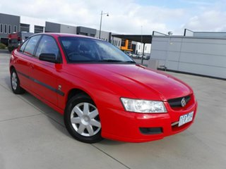2004 Holden Commodore VZ Executive Red 4 Speed Automatic Sedan.