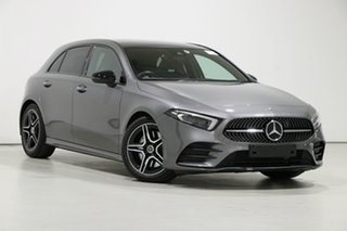 2018 Mercedes-Benz A250 177 MY19 4Matic AMG Line Mountain Grey 7 Speed Auto Dual Clutch Hatchback.