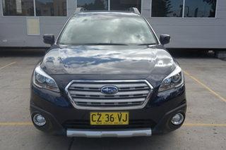 2015 Subaru Outback B6A MY15 2.5i CVT AWD Premium Blue 6 Speed Constant Variable Wagon.