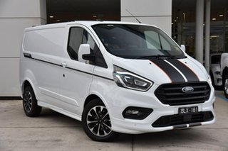 2020 Ford Transit Custom VN 2020.50MY 320S (Low Roof) Sport White 6 Speed Automatic Van.