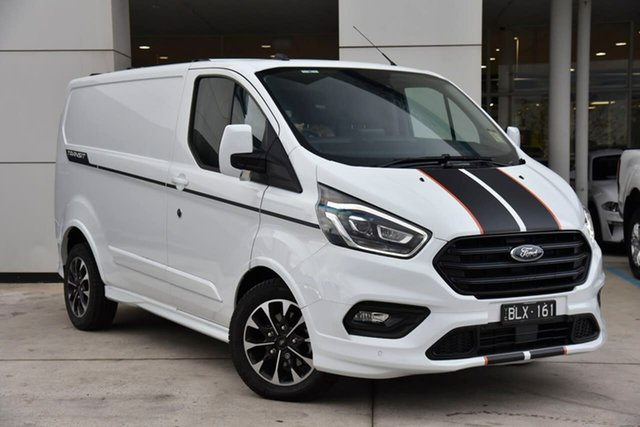 Used Ford Transit Custom VN 2020.50MY 320S (Low Roof) Sport Oakleigh, 2020 Ford Transit Custom VN 2020.50MY 320S (Low Roof) Sport White 6 Speed Automatic Van