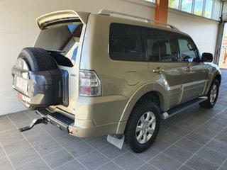 2009 Mitsubishi Pajero NT MY10 RX Gold 5 Speed Sports Automatic Wagon