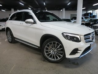 2018 Mercedes-Benz GLC-Class X253 808MY GLC250 9G-Tronic 4MATIC White 9 Speed Sports Automatic Wagon.
