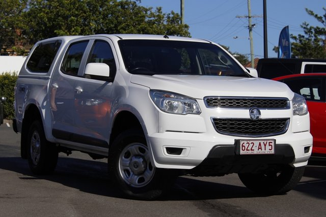 Used Holden Colorado RG MY16 LS-X Crew Cab Mount Gravatt, 2015 Holden Colorado RG MY16 LS-X Crew Cab White 6 Speed Sports Automatic Utility