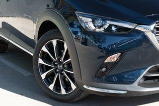 2021 Mazda CX-3 CX-3 F 6AUTO AKARI PETROL FWD Deep Crystal Blue Wagon.