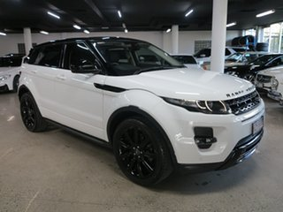 2014 Land Rover Range Rover Evoque L538 MY15 Dynamic White 9 Speed Sports Automatic Wagon.