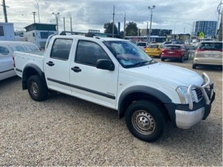 2005 Holden Rodeo RA LT White 5 Speed Manual Crew Cab Pickup.