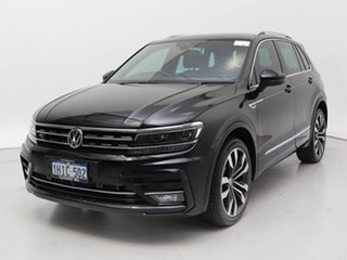 2018 Volkswagen Tiguan 5NA MY18 140 TDI Highline Black 7 Speed Auto Direct Shift Wagon.