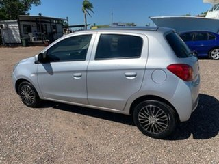 2014 Mitsubishi Mirage Silver 4 Speed Auto Active Select Hatchback.