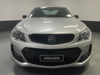 2016 Holden Commodore VF II MY16 SV6 Black Silver 6 Speed Sports Automatic Sedan.