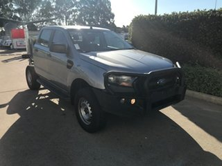 2016 Ford Ranger PX MkII XL Plus Silver 6 speed Automatic Cab Chassis.