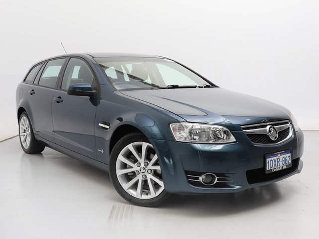 Used Holden Commodore VE II MY12 Equipe, 2011 Holden Commodore VE II MY12 Equipe Blue 6 Speed Automatic Sportswagon
