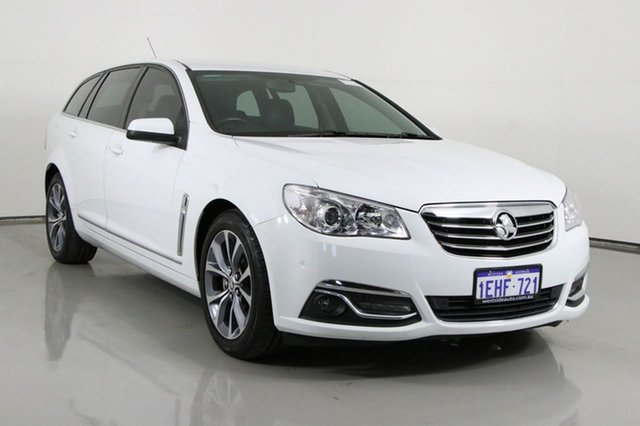 Used Holden Calais VF Bentley, 2013 Holden Calais VF White 6 Speed Automatic Sportswagon