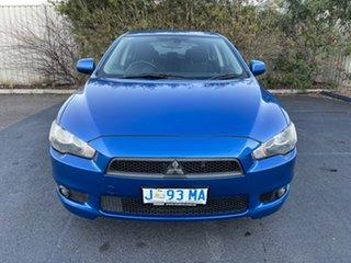 2009 Mitsubishi Lancer CJ MY09 VR Sportback Blue 6 Speed Constant Variable Hatchback.