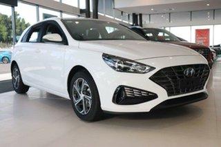 2021 Hyundai i30 PD.V4 MY21 Polar White 6 Speed Sports Automatic Hatchback.