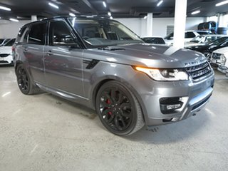 2017 Land Rover Range Rover Sport L494 17MY SDV8 HSE Dynamic Corris Grey 8 Speed Sports Automatic.