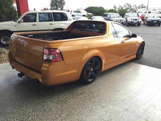 2010 Holden Commodore VE II SV6 Orange 6 Speed Manual Utility