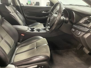 2016 Holden Commodore VF II MY16 SV6 Black Silver 6 Speed Sports Automatic Sedan