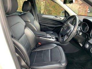 2014 Mercedes-Benz M-Class W166 ML250 BlueTEC White Sports Automatic Wagon
