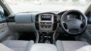 2005 Toyota Landcruiser UZJ100R GXL Silver 5 Speed Automatic Wagon
