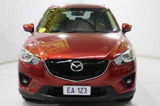 2014 Mazda CX-5 KE1021 MY14 Grand Touring SKYACTIV-Drive AWD Red 6 Speed Sports Automatic Wagon.