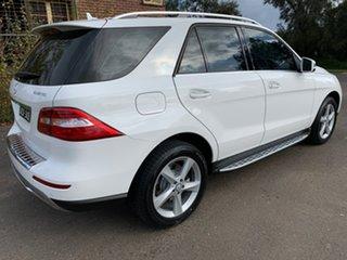 2014 Mercedes-Benz M-Class W166 ML250 BlueTEC White Sports Automatic Wagon.