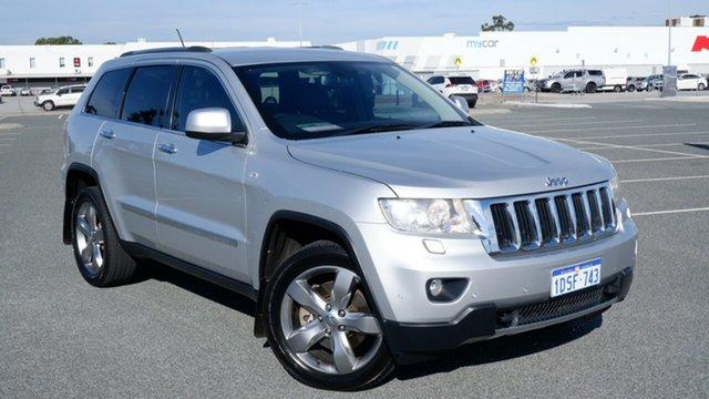 Used Jeep Grand Cherokee WK MY2011 Limited Maddington, 2011 Jeep Grand Cherokee WK MY2011 Limited Silver 5 Speed Sports Automatic Wagon