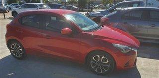 2016 Mazda 2 DJ2HA6 Genki SKYACTIV-MT Soul Red 6 Speed Manual Hatchback