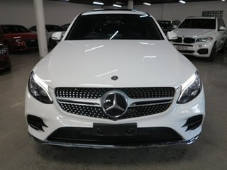 2017 Mercedes-Benz GLC-Class C253 GLC250 d Coupe 9G-Tronic 4MATIC White 9 Speed Sports Automatic.