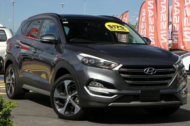 Used Hyundai Tucson TLE2 MY18 Highlander AWD Aspley, 2017 Hyundai Tucson TLE2 MY18 Highlander AWD Grey 6 Speed Sports Automatic Wagon