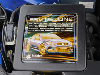 2016 Holden Commodore VF II SS-V Redline Slipstream Blue 6 Speed Automatic Sedan